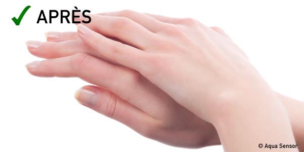 mains doux adoucisseur