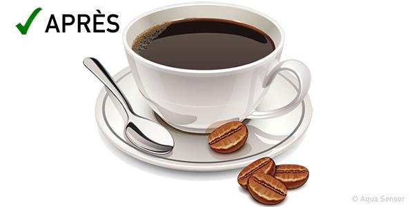 cafe eau dure eau douce