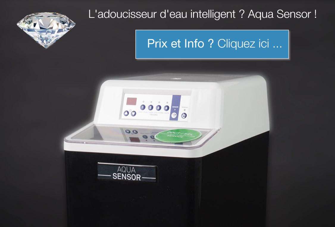 adoucisseur d'eau intelligent aqua sensor